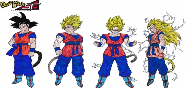 Son Goku (Age 797 in Dragon Ball SF fan-manga)