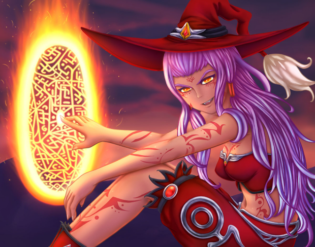 Takara the Fire Witch