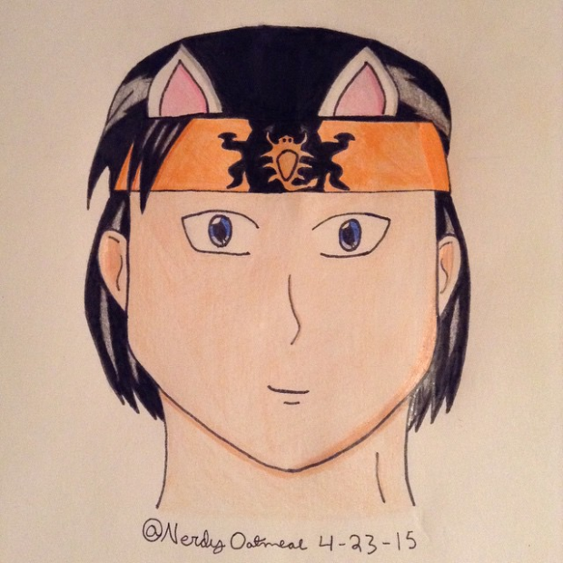 Takeda with cat ears