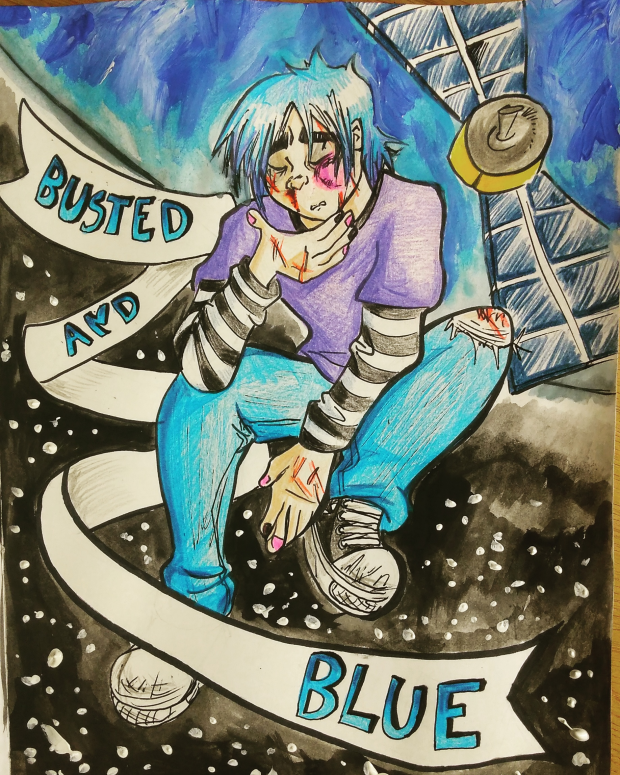 Busted and Blue