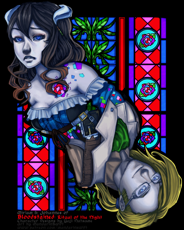 Monthly Fanart Request: Bloodstained: RotN