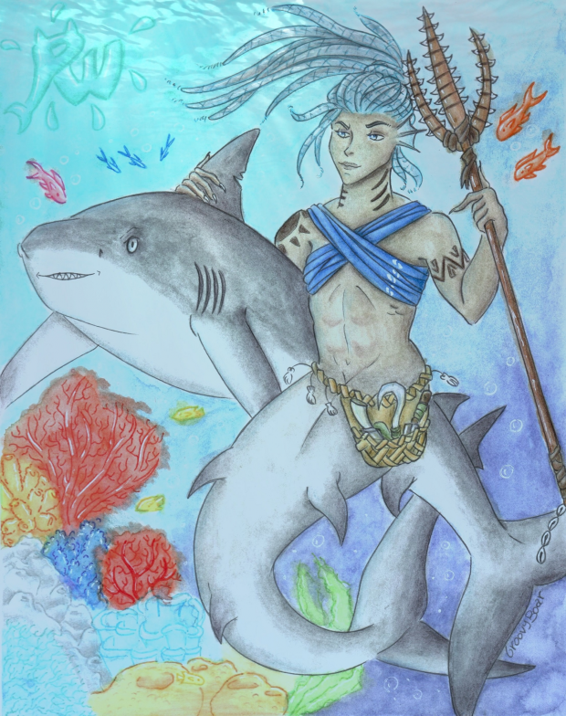 Warrior Mermaid