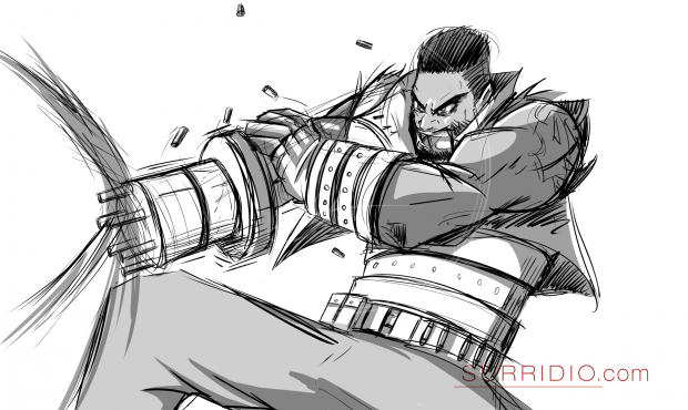 Barret FFVII