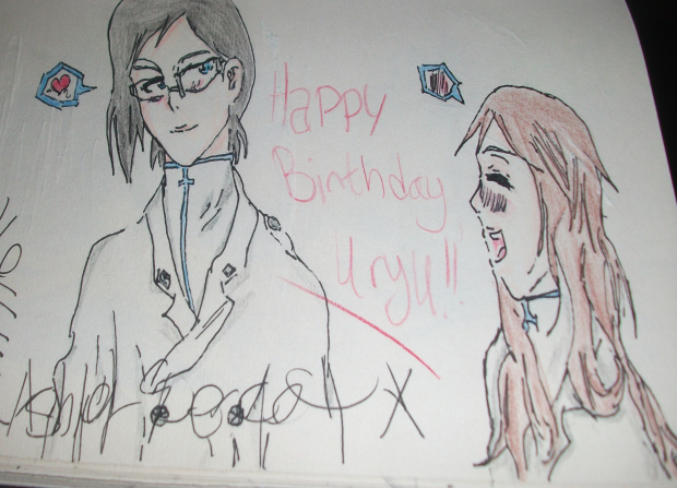 Happy Birthday, Uryu!!!