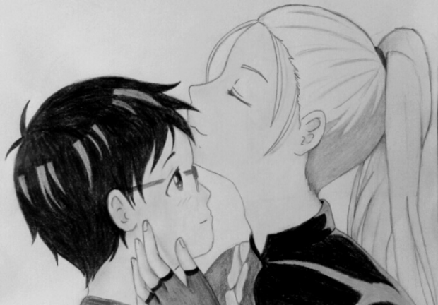 Young Yuri and Viktor