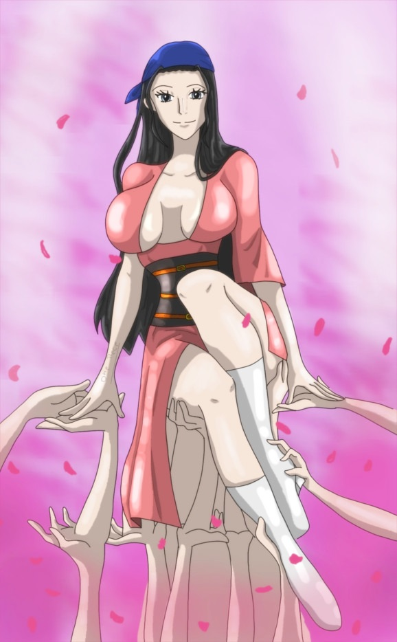 Nico Robin hot to touch