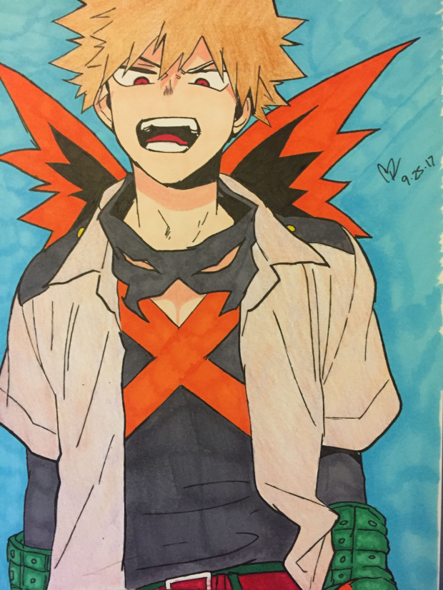 Katsuki Bakugo from My Hero Academia