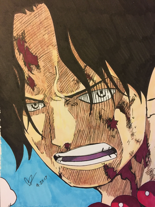 Portgas D. Ace from One Piece