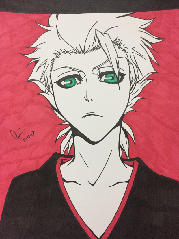 Toshiro Hitsugaya from Bleach Anime