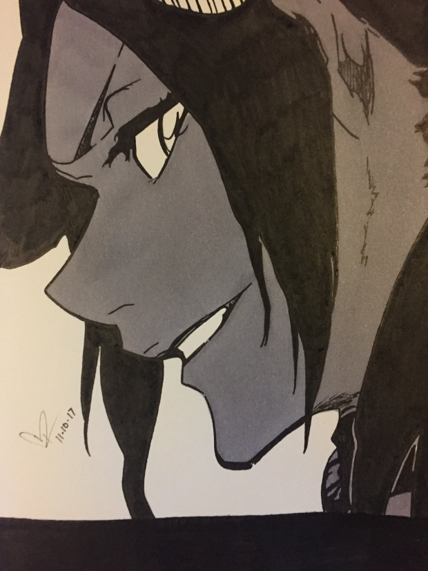 Yoruichi Shihōin from Bleach Anime