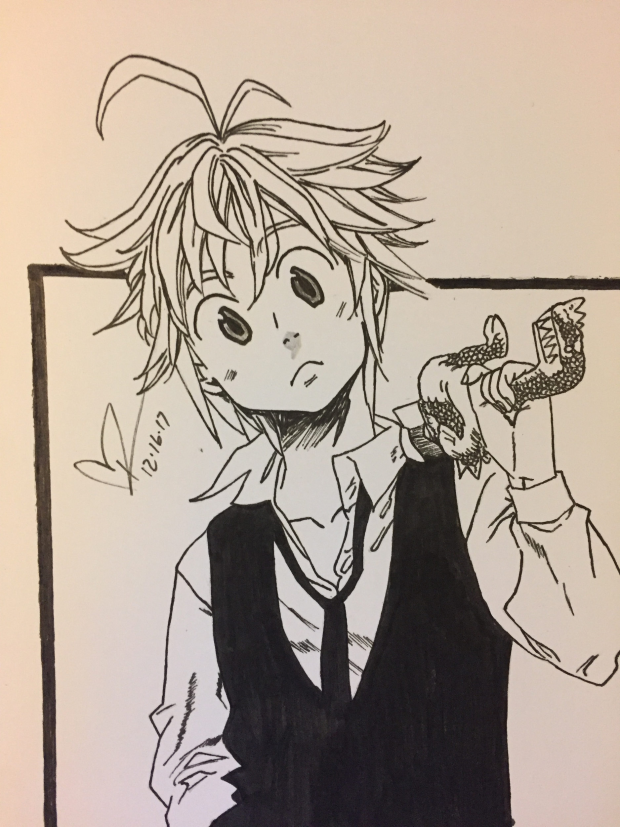 Meliodas from Seven Deadly Sins