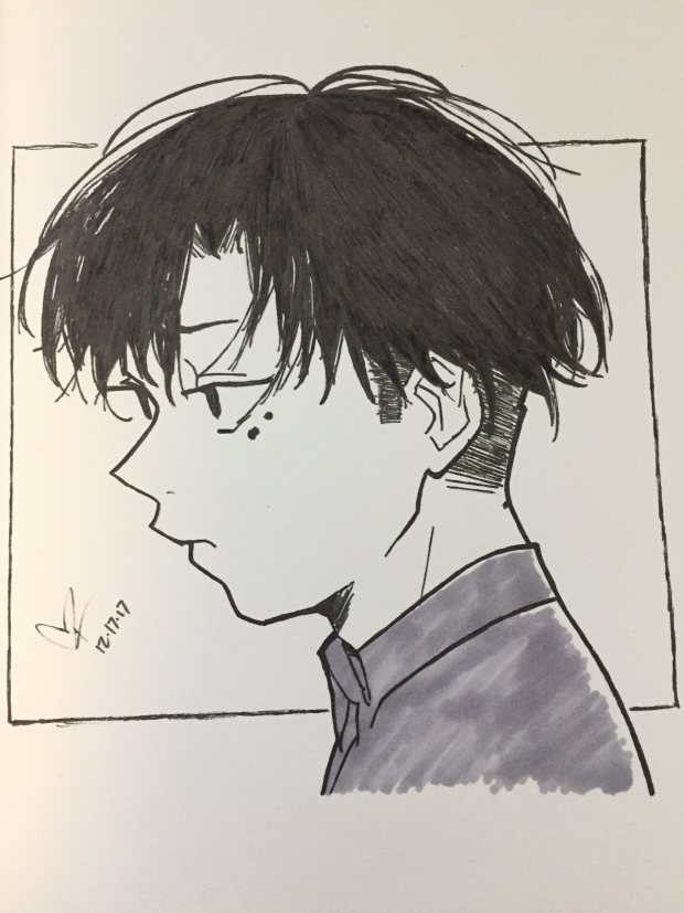 Urie Kuki Fanart from Tokyo Ghoul