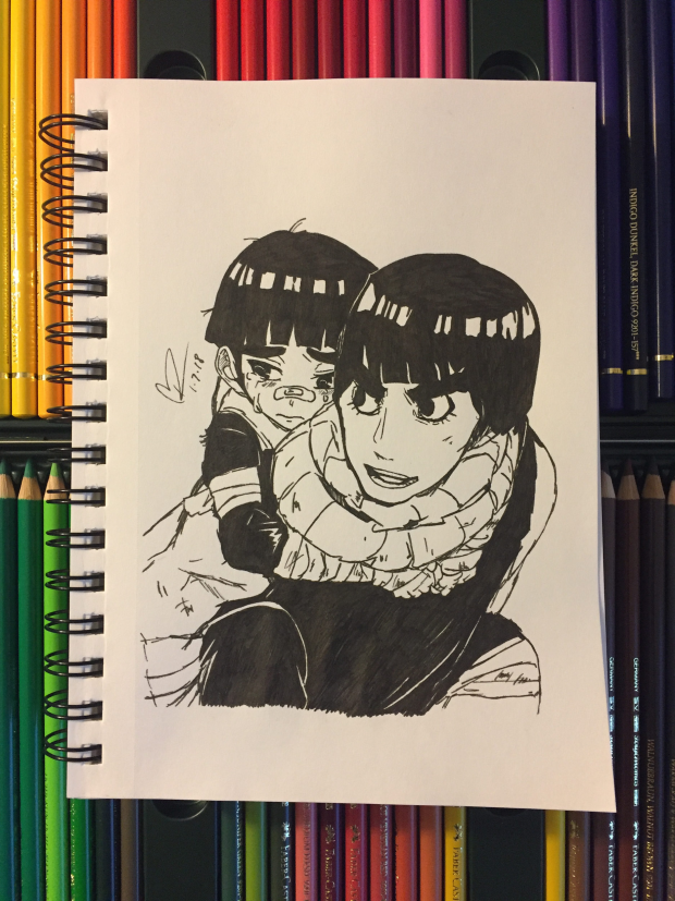 Rock Lee and Metal Lee from Boruto