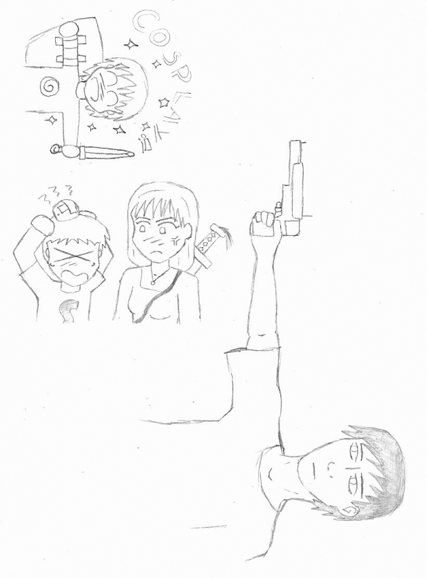 FFtheO: Resistance Chronicle - Sketches 3
