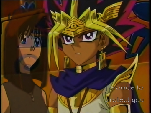 Atem x Anzu Protect Wallpaper