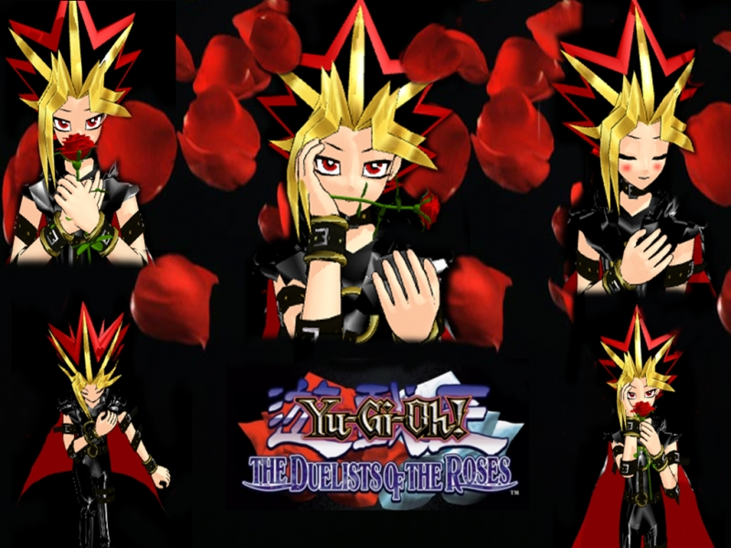 Yami Duelist Rose MMD Style