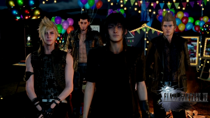 FFXV Happy Holidays 2016