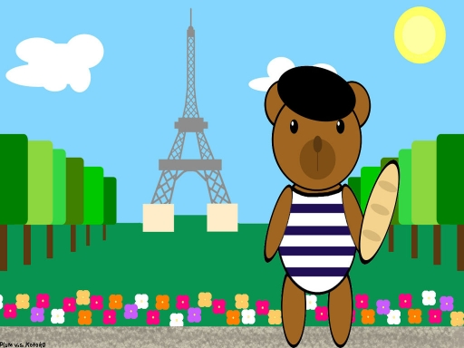 Edwin Bear in France