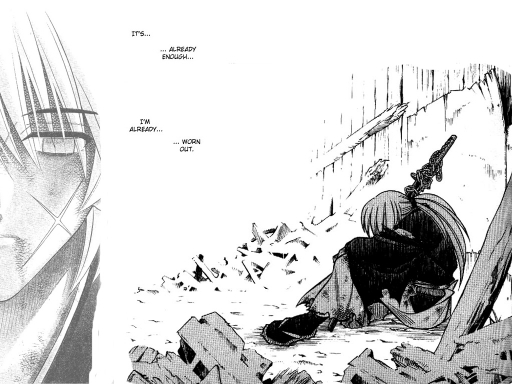 Kenshin Gives Up...