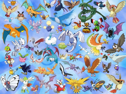 Flying Pokemon