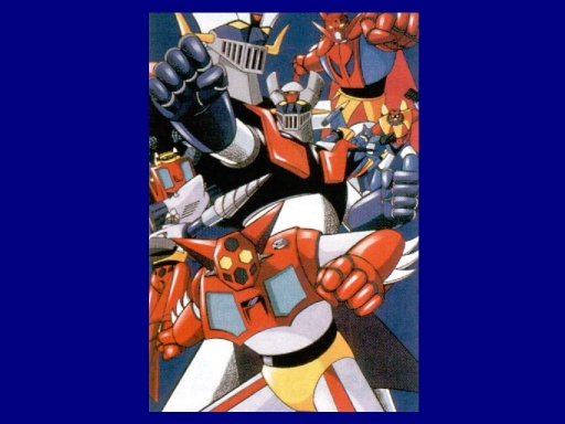 Mazinger And Getter Robo