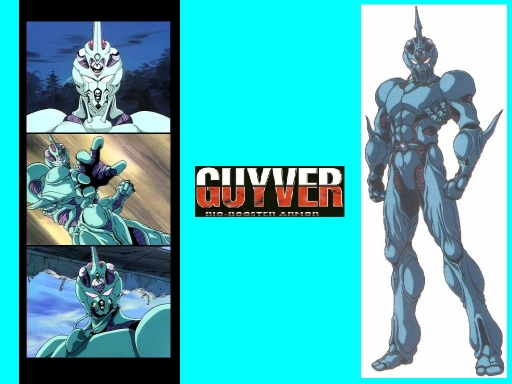 Guyver I (1989 Anime Version)