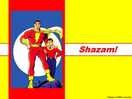 Billy Batson and His Alter-Ego
