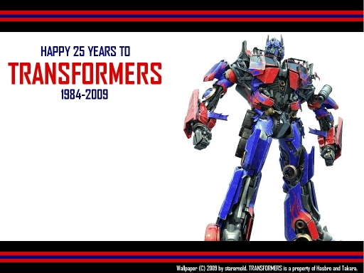 25 Years Of Transformers