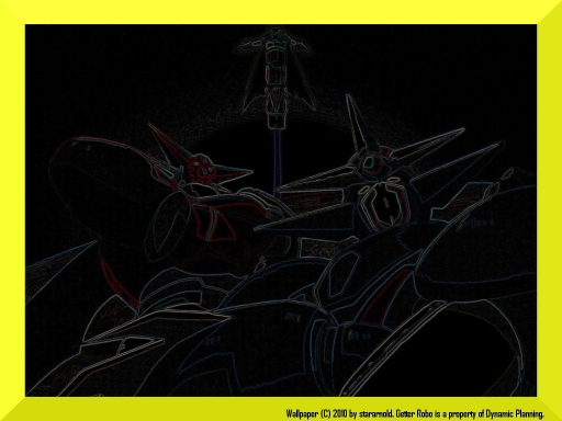 Getter Robo Photo Border