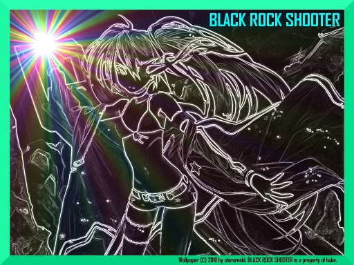 Enter The Black Rock Shooter