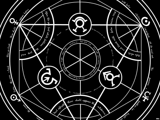 Transmutation Circle By Edwardelricthe2nd
