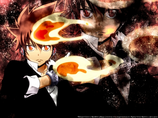 Burn Bright Tsuna