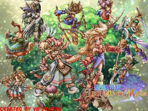 The True Legend Of Mana