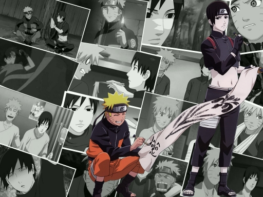 Naruto and Sai