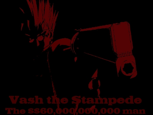 Red And Black Vash
