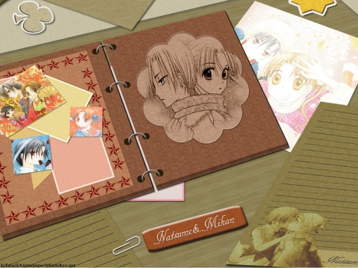 Natsume and Mikan Scrapbook