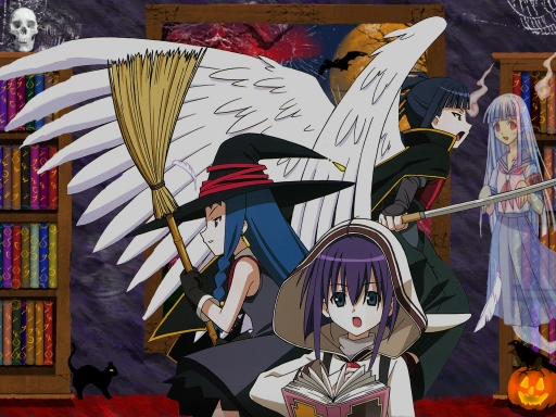 Negima Haunted house