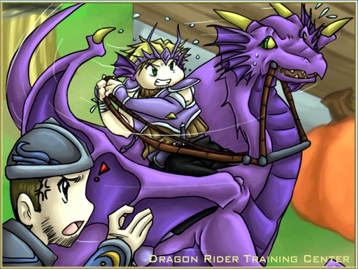 Dragon Riding Training
