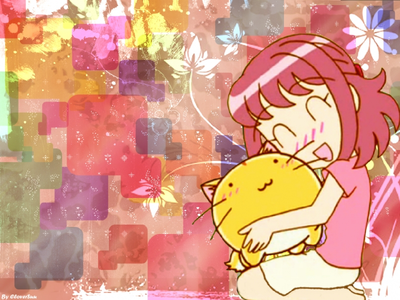 Moe and Poyo Hugs!