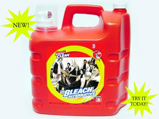 Bleach Bottle Captins