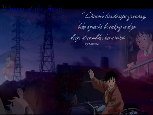 Whisper of the Heart Haiku