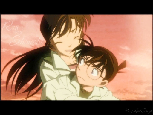 Shinichi And Ran- Detective Co