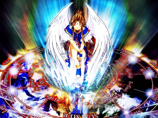 Belldandy Shining Light