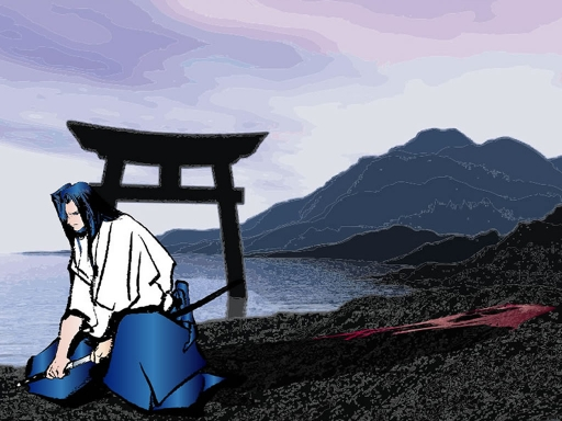 In the Shadow of the Samurai