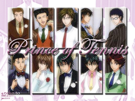 Prince Of Tennis Wall Of Fame