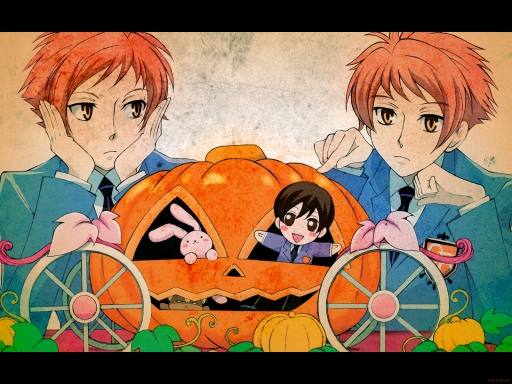 Hitachiin Twins on Halloween