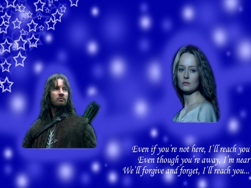 I'll reach you - Faramir x Eow