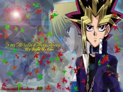 Joey Wheeler And Yami Yugi
