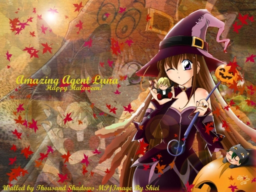 Amazing Agent Luna-happy Hallo