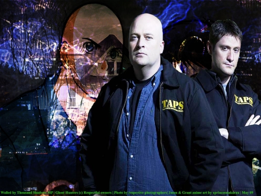 Ghost Hunters-Jason and Grant